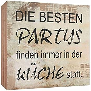 Amazon.de: Nostalgie Blechschild - Die besten Partys finden ...