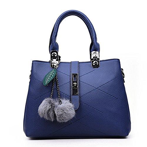 XY Fancy, Borsa a mano donna rosso rot, grau (grigio) - RH#BB1215-0838-BB29 blau