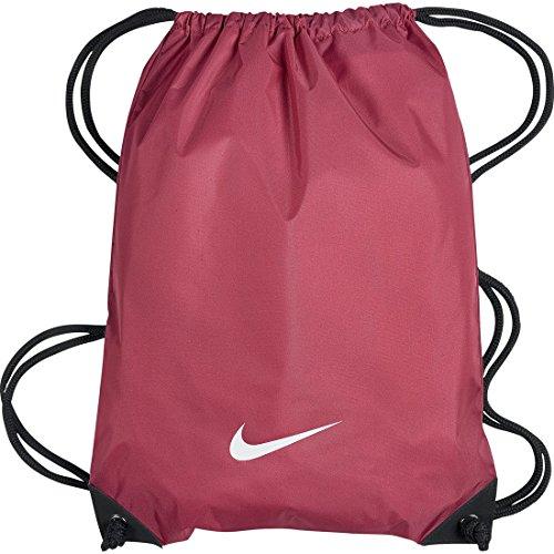Nike Fundamentals Swoosh Gymsack - Bolsa, color rosa / blanco