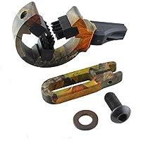 Arrow Apoyo Pincel Whisker Capture Funciona su SX o DX para Preparar Bow Caza Accesorios Kit, Camuflaje