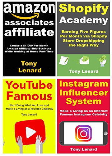 Make Money at Home Program: Earning Money While Working from Home for Side-Hustlers. Shopify, Amazon Associates, YouTube Vlogging & Instagram Famous Business Ideas (English Edition)