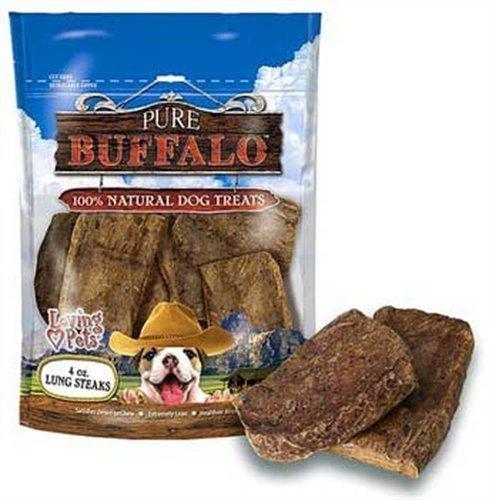 Loving Pets Pure Buffalo 6-Inch Bully Stick Dog Treat, 6-Pack by Loving Pets (English Manual)