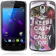 Print Motif Coque de protection Case Cover // Q01023690 keep calm and carry on 1195 // Samsung Galaxy Nexus GT-i9250 i9250
