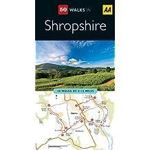 Shropshire (AA 50 Walks Series)