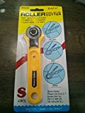 #7: Rajesh Rotary Cutter for Fabric,Paper,Leather and Vinyl (28mm, White)