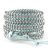 DOTS ORIGINALS Armband - Hochwertiges Wickelarmband aus liebevoller Handarbeit - Damenarmband mit unvergleichlichem und zeitlosem Design - Veganer Armschmuck für Damen