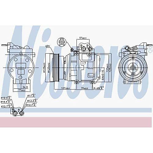 Nissens 890067Kompressor für Klimaanlage