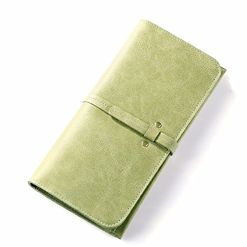 hoom-vintage-ladies-long-bi-fold-di-semplicita-in-pelle-green-b