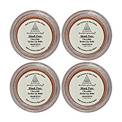Khadi Pure Herbal Chocolate Lip Balm - 10g (Set of 4)