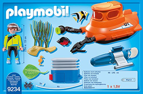 PLAYMOBIL 9234 - U-Boot mit Unterwassermotor -
