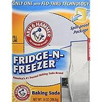 Brazo y martillo bicarbonato sódico, fridge-n-freezer unidades, olor amortiguador SYNCHKG117315, Paquete de 3, 1