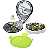 Best Smart Planet Lunch Boxes - Smart Planet Portion Perfect Ultrathin Salad Book, Green Review