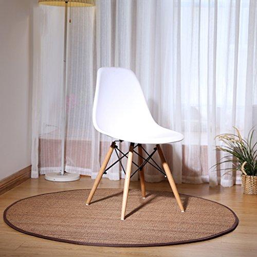 GZP Innenteppich Runde Bambus Teppich, Hand gewebt Bambus Teppich Wohnzimmer Schlafzimmer Studie Matten Decke (größe : ROUND-150cm)
