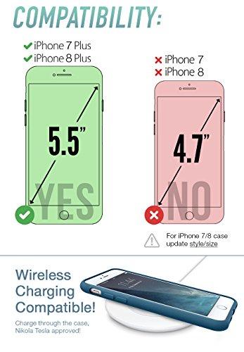 silk iphone 7/8 grip case custodia - base grip leggero