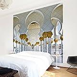 Vliestapete–Moschee in Abu Dhabi–Wandbild quadratisch