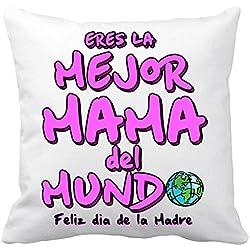 Cojín con relleno eres la mejor mama del Mundo Feliz día de la madre