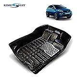 #3: Kingsway 5D Car Floor Mats for Tata Nexon (Black Color, PVC)