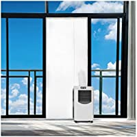 Rhodesy Fensterabdichtung Für Mobile Klimageräte und Abluft-Wäschetrockner, Passend zu Jedem Klimagerät und Allen...