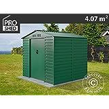 Dancover Caseta de Jardin 2,13x1,91x1,90m ProShed, Verde