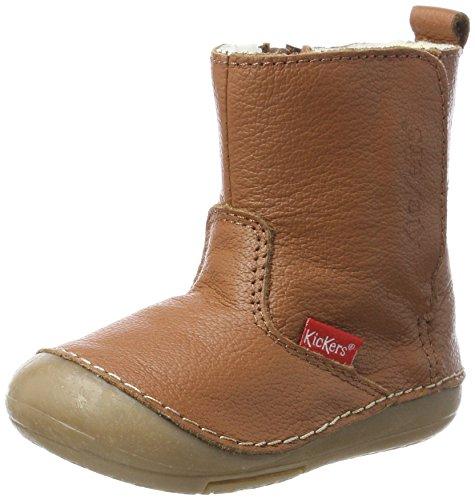 Kickers Baby Jungen Socool Klassische Stiefel, Beige (Camel Cho), 22 (Jungen Kinder Stiefel)