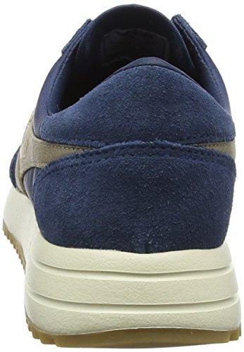 Gola Damen Montreal Mirror Baltic/Gold/Off Wht Sneaker Blau (Baltic/gold/off Wht Ey)
