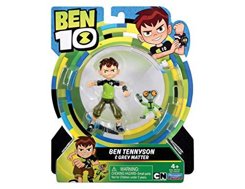 Ben 10- Giochi Preziosi-BEN00210-Ben10-Figurine Articulée avec Accessoires-Ben, BEN00210