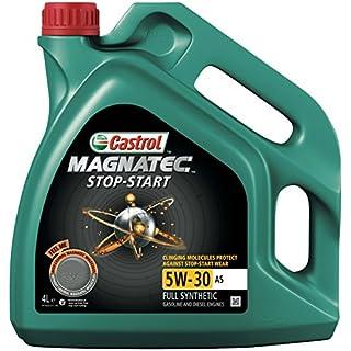 Castrol 15990F Magnatec Stop-Start Engine Oil 5W-30 A5, 4L