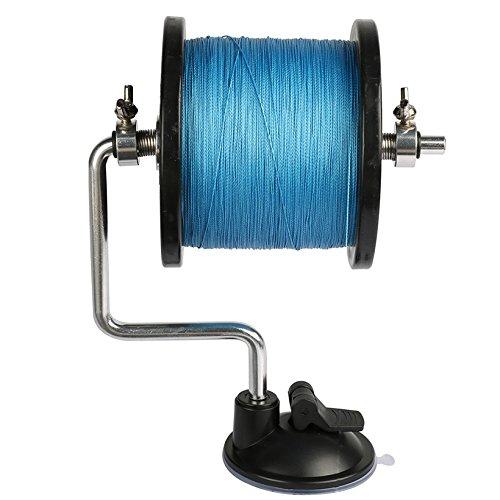 Neue Produkt Angelschnur Winder Spule Spule-Drucksystem System Tackle Aluminium Satz contorl Angeln Werkzeug (Angelschnur Reel Winder)
