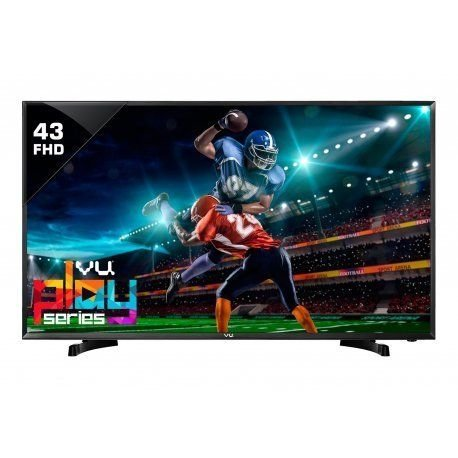 Vu 109.3 cm (43 inches) 43D6545 Full HD LED TV