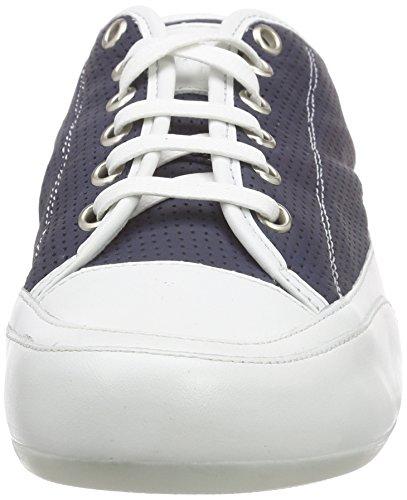 Candice Cooper Rock.bord.vit.traforato, Baskets Basses femme Bleu - Bleu marine