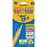 Bic  - Lapices de colorear, pack de 12