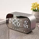 Best Bluetooth Alarm Clocks - Digital Alarm Clock with Bluetooth Speaker, Fozela Digital Review