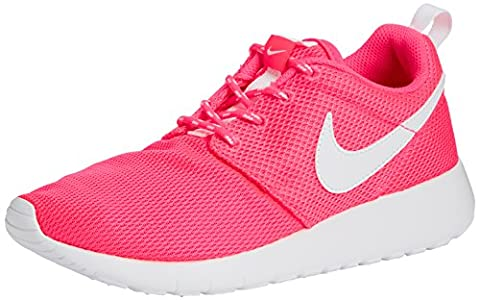 Nike Roshe One (Gs), Chaussures Multisport Indoor mixte enfant, Rose (Hyper Pink/white), 38 EU