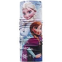 Buff Frozen Original Elsa Scaldacollo Microfibra, Unisex bambini, Blu/Grape, Taglia Unica