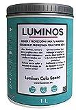 Luminos LUM1103 Cala Saona - Impregnante Protettivo Per Legno, Colore Blu, 1L