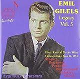 Die besten LEGACY Pop Musics - Gilels Legacy Vol.5 Bewertungen