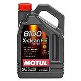 MOTUL–Olio 8100X-Clean FE 5W30, ACEA C2/C3) 5L