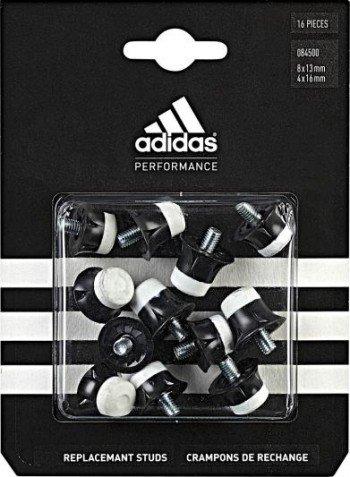 adidas - Tacchetti Coppa del Mondo, 13/16 mm, in Nylon, Nero