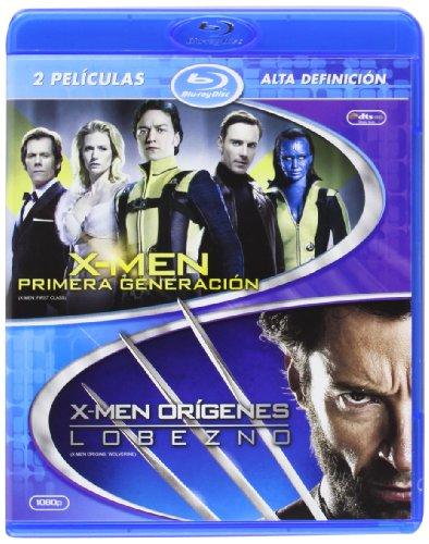 X-Men Primera Generación + Lobezno [Blu-ray]