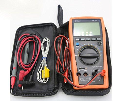 Hycy Auto Range 3 6/7 Digital-Multimeter 20A Widerstand Kapazität Temperatur Meter Voltmeter Amperemeter & Analog Lesen Bar