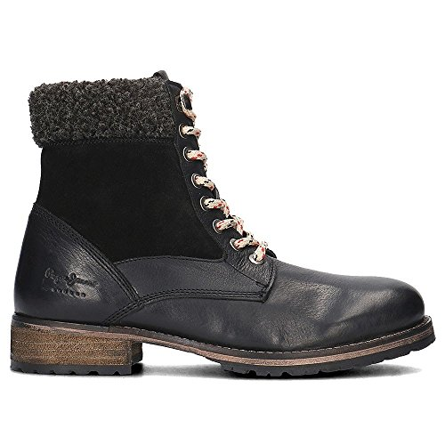 Pepe Jeans London Melting Collar, Stivali Donna Nero (Black)