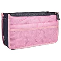 Styleys Women's Polyester 13 Compartments Multipocket Handbag