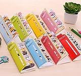 Ferbixo Cute Kawaii DIY Feuilles Memo Pad Sticky–Post-it Note Dessin animé Animal Ours Chien Cochon Chat Pingouin Autocollant Bureau Fournitures scolaires, Lot de 8