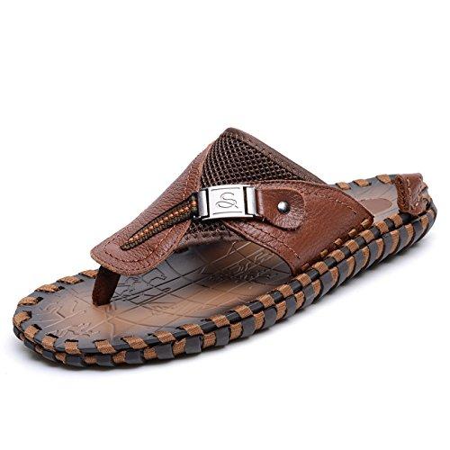 Xing lin uomini sandali estate ragazzi artigianale di flip flop uomini pantofole moda uomo sandali da spiaggia clip punta antiscivolo per scarpe da uomo