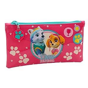 La Patrulla Canina Girl Neceser de Viaje, 0.76 litros, Color Rosa