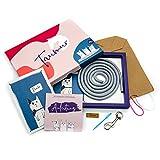 Taumur Set für einfache Leine für kleine Hunde - grau/pink