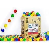 6cm Bälle für Kinder Bällebad Babybälle Plastikbälle ohne gefährliche Weichmacher (TÜV Rheinland Zertifiziert 2013)
