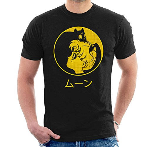 Camiseta hombres Sailor Moon - Luna & Usagi