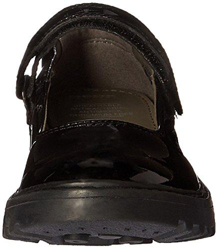 Geox J Casey P, Ballerines Fille Noir (Black)