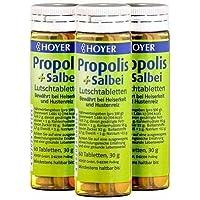 HOYER Propolis & Salbei Tabletten (3 x 30g) preisvergleich bei billige-tabletten.eu
